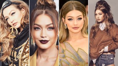 Gigi Hadid Made Slicked Fringe and Bleached Eyebrows Look So Good at the LFW 2019: 10 Other Times Her Hairstyles Made Us Go WOW
